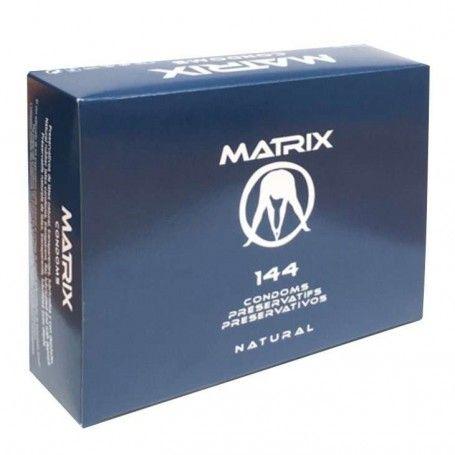 PRESERVATIVOS   CAIXA DE 144 PRESERVATIVOS NATURAIS MATRIX Prazer 24 ®